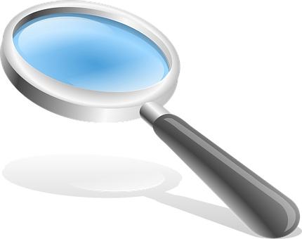 Home Staging Betriebs-Versicherung Österreich Lupe blau